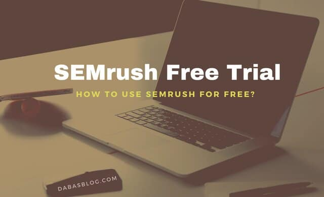 semrush free trial