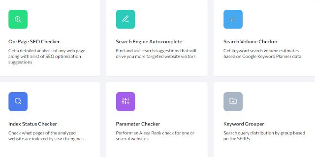 SE Ranking Tools