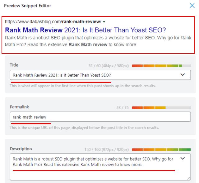 Rank Math SEO review
