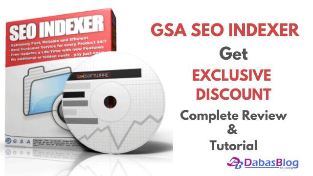 GSA SEO Indexer Discount