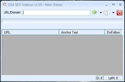 GSA Indexer Dashboard