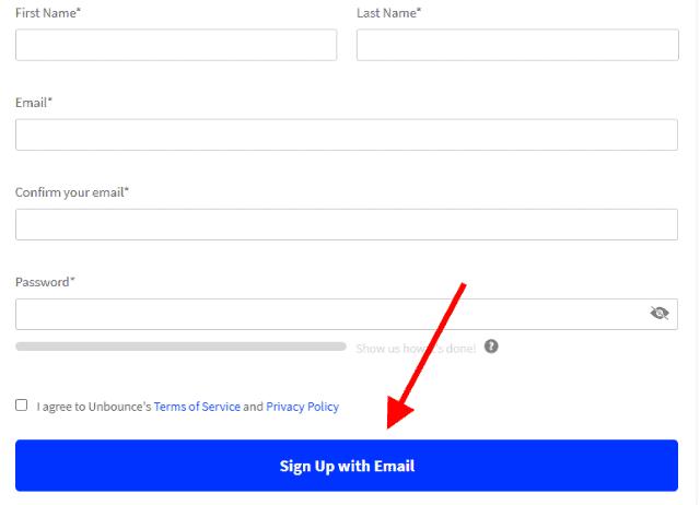 unbounce registration
