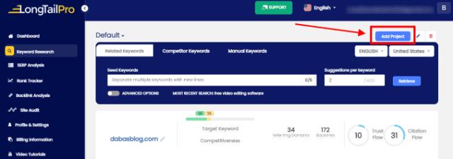 longtailpro keyword